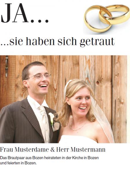 Muster Hochzeitspaar
