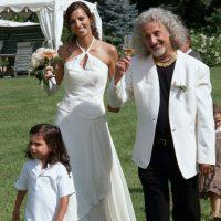 Evelyn De Silva (Innerhofer) bei ihrer Hochzeit / Foto: Zett